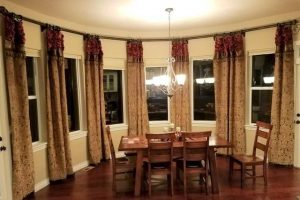 old world curtains