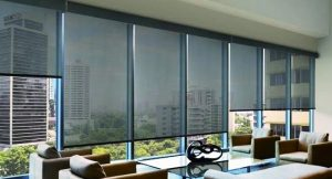 business window shades