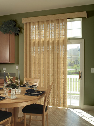 kitchen slider shades