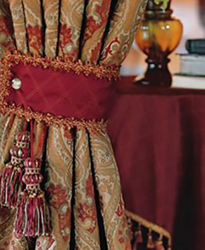 decorative drapery tie
