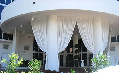 outdoor stage curtains