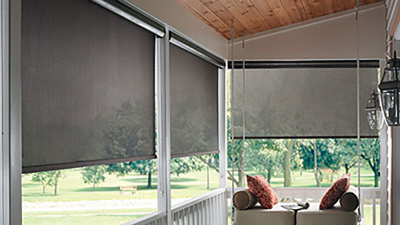 solar roller outdoor shade