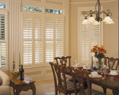 dining room shutters